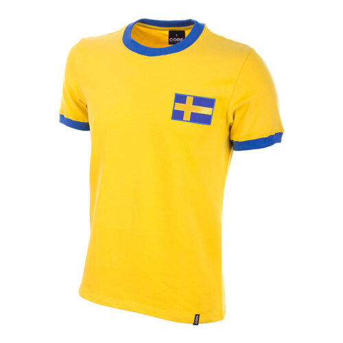 Sweden 1968 Retro Football Shirt