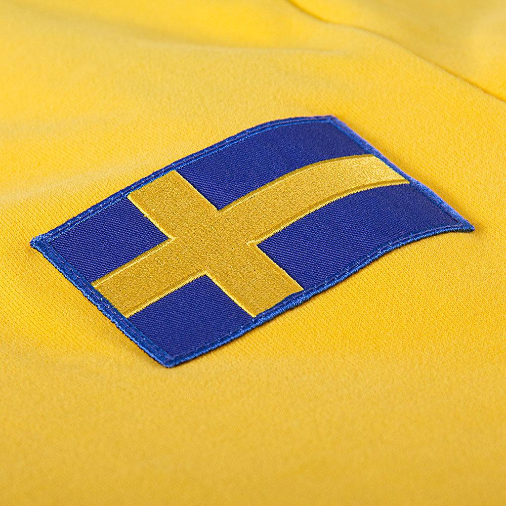 Svezia 1968 Maglia Storica Calcio