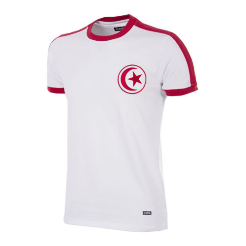Tunisia 1977 Retro Football Shirt