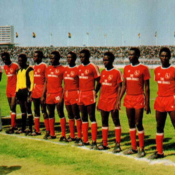 Uganda 1978 Maglia Storica Calcio