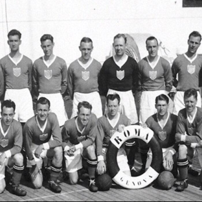 Stati Uniti 1934 Away Maglia Storica Calcio