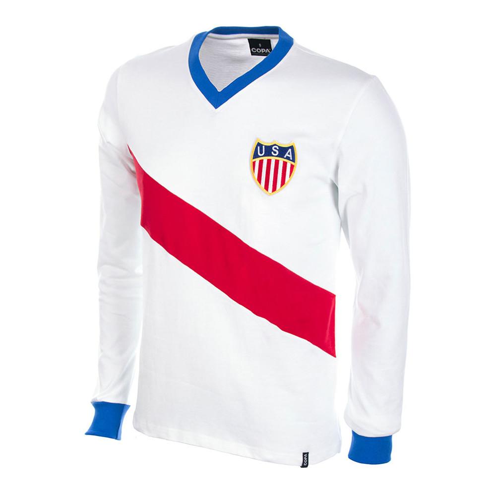 Estados Unidos 1950 Camiseta Retro Fútbol