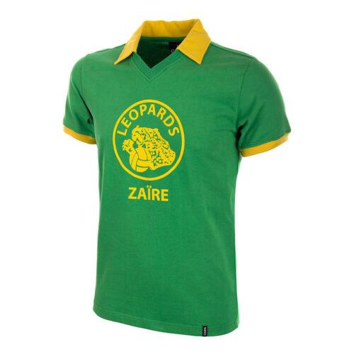 Zaire 1974 Maglia Calcio Storica