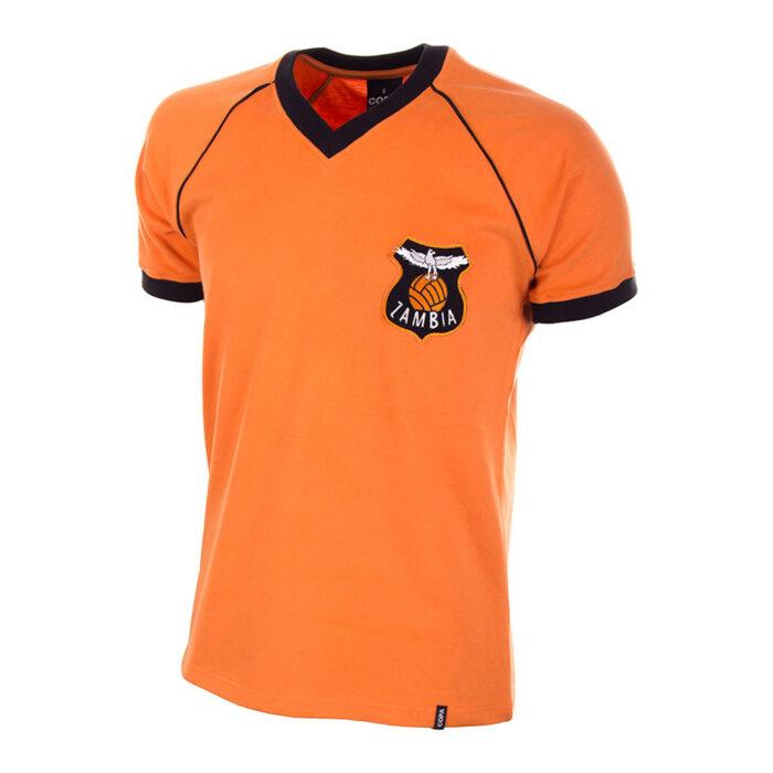 Zambia 1986 Camiseta Retro Fútbol
