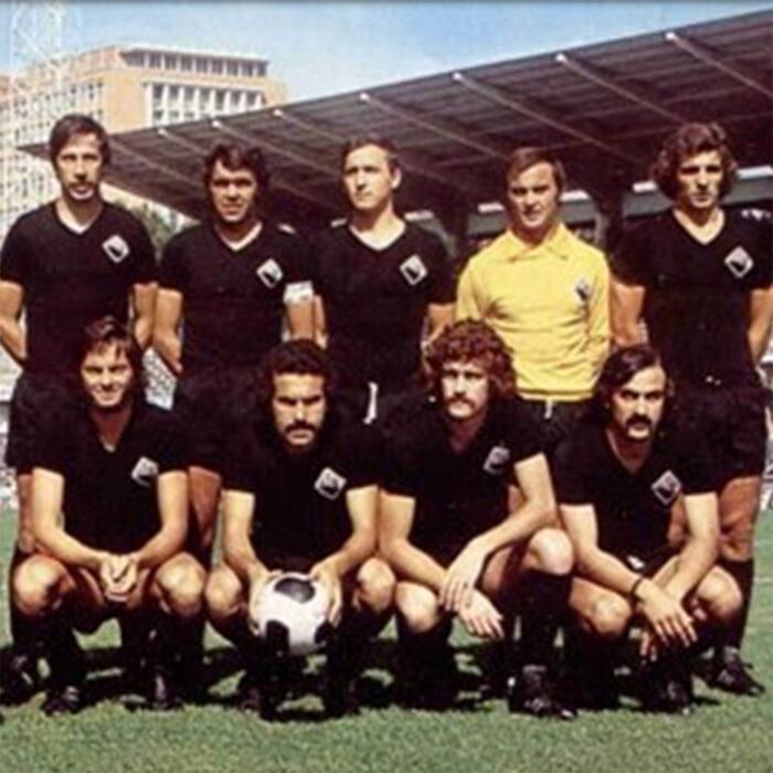 Academica Coimbra 1974-75 Maglia Storica Calcio