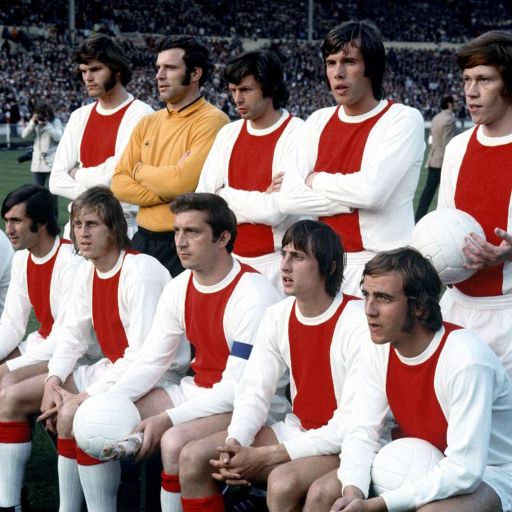 Ajax 1970-71 Maglia Storica Calcio