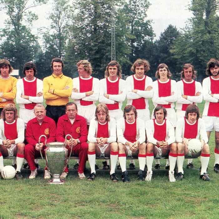 Ajax 1972-73 Maglia Storica Calcio