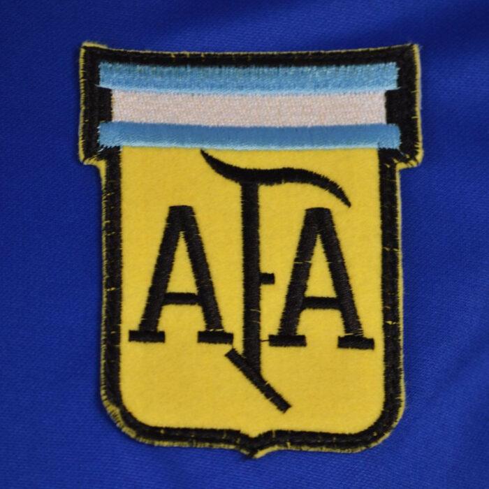 Argentina 1982 Away Maglia Storica Calcio