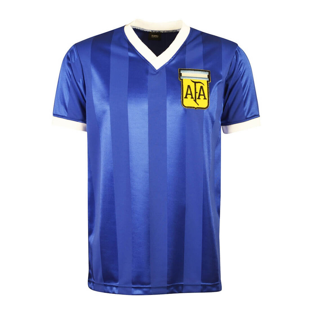 Argentine 1986 Maillot Rétro Football