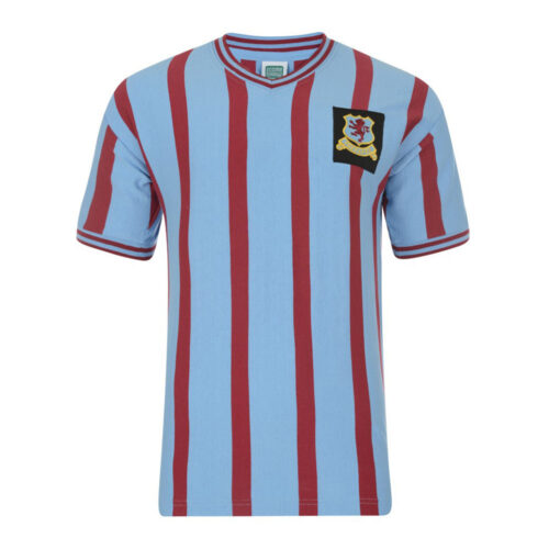 Aston Villa 1956-57 Retro Football Shirt
