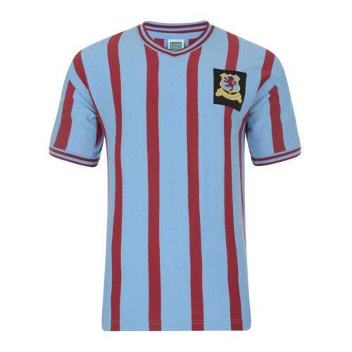 Aston Villa 1956-57 Maillot Rétro Foot