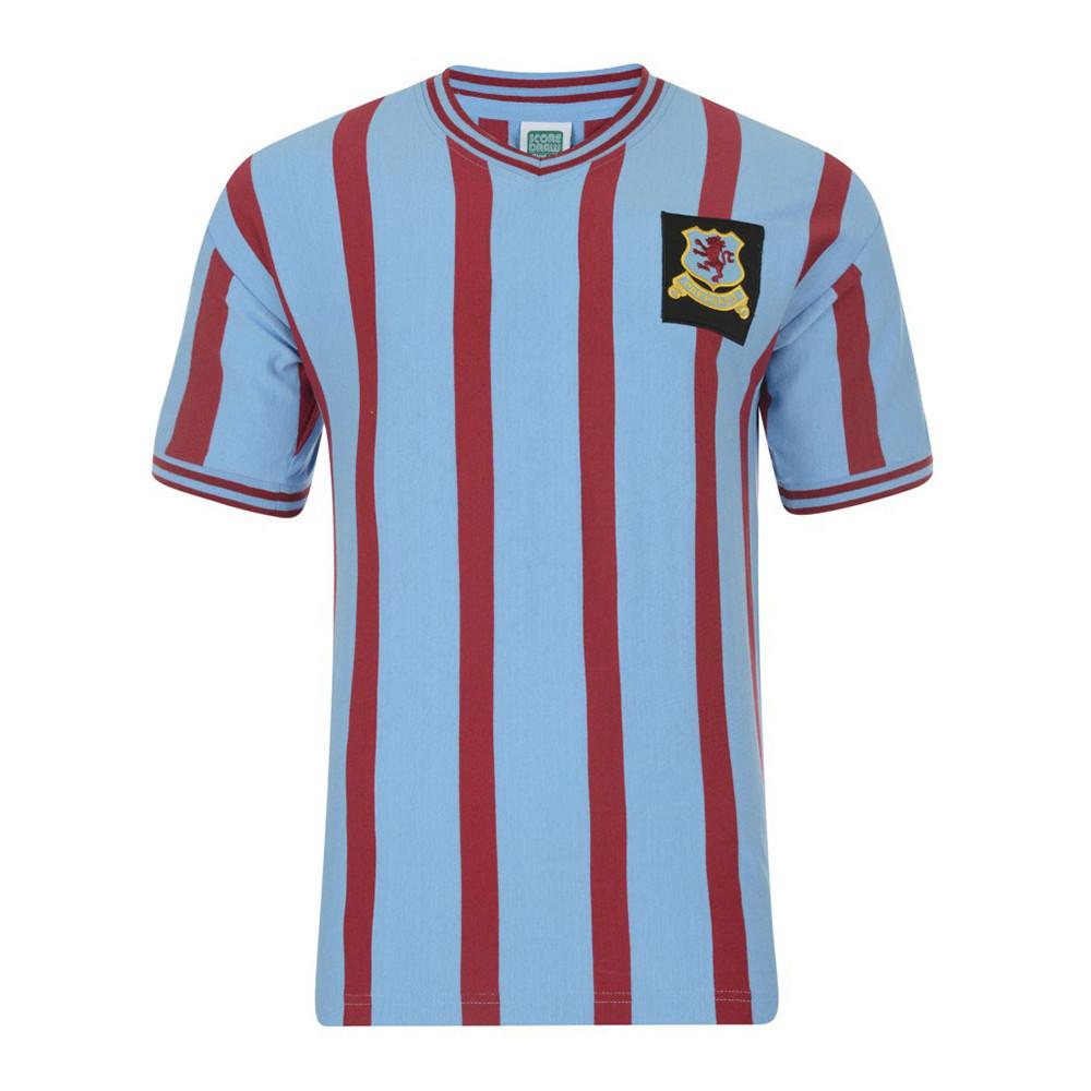 Aston Villa 1956-57 Retro Football Shirt