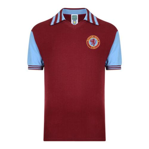 Aston Villa 1980-81 Maillot Rétro Foot