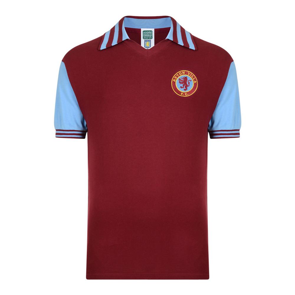 Aston Villa 1980-81 Maglia Storica Calcio