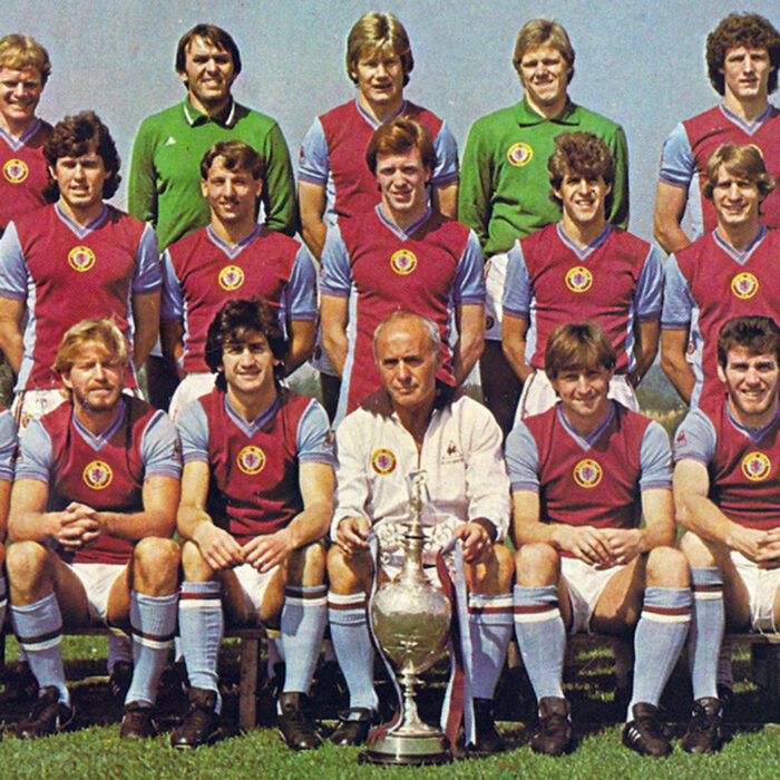 Aston Villa 1981-82 Maglia Storica Calcio