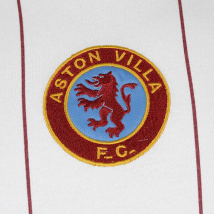 Aston Villa 1981-82 Away Maglia Storica Calcio