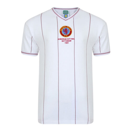 Aston Villa 1981-82 Maillot Vintage Football