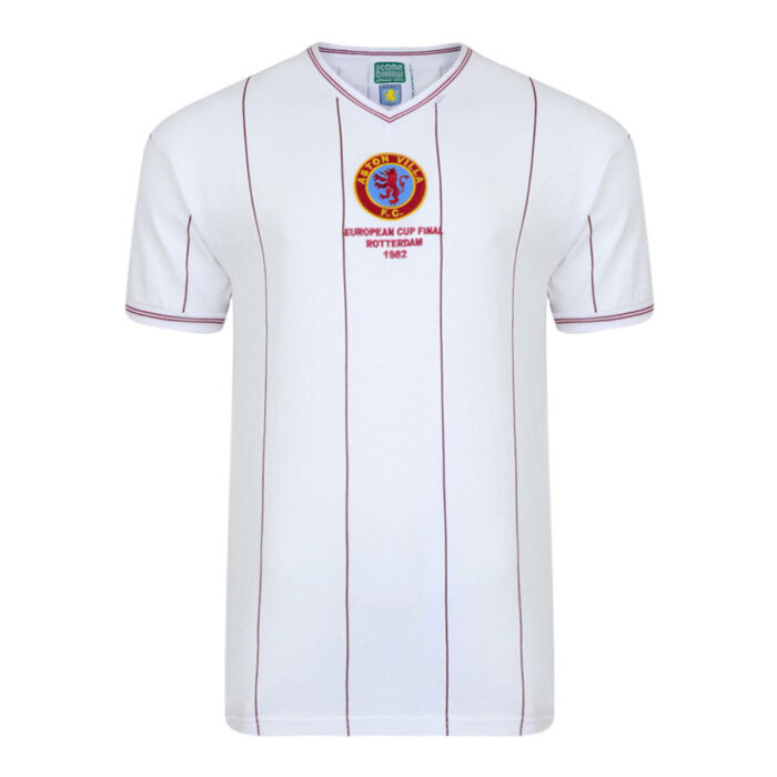 Aston Villa 1981-82 Camiseta Fútbol Vintage