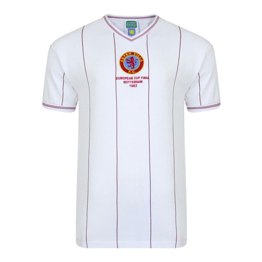 Aston Villa 1981-82 Maglia Calcio Vintage