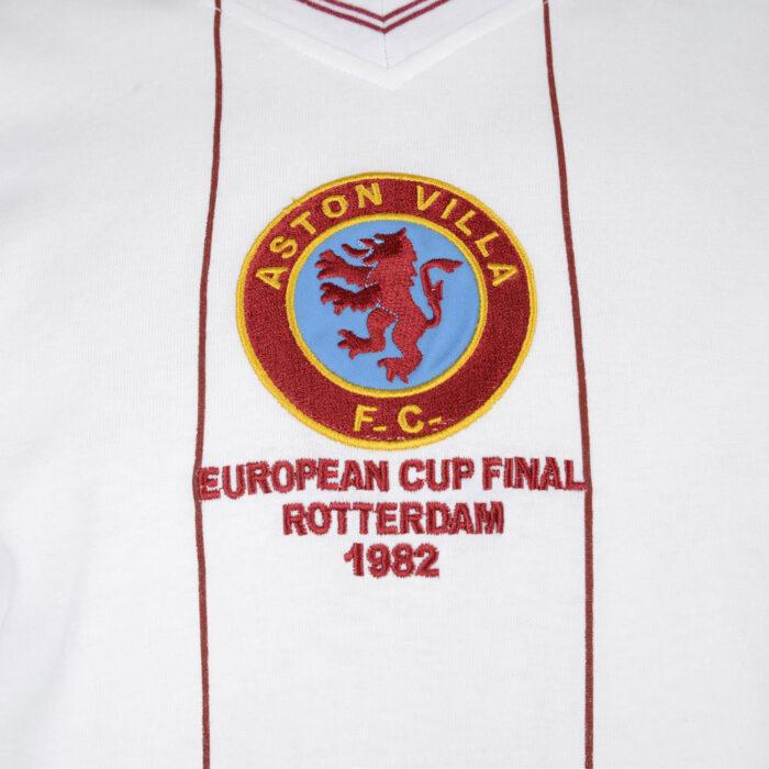 Aston Villa 1981-82 Away Maglia Calcio Storica