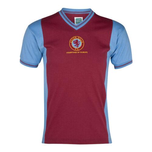 Aston Villa 1981-82 Camiseta Fútbol Retro