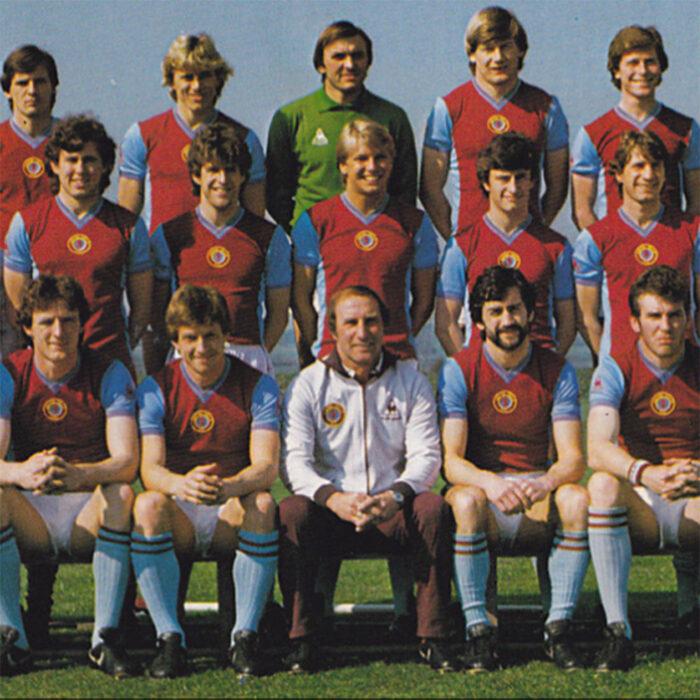Aston Villa 1981-82 Maglia Calcio Storica