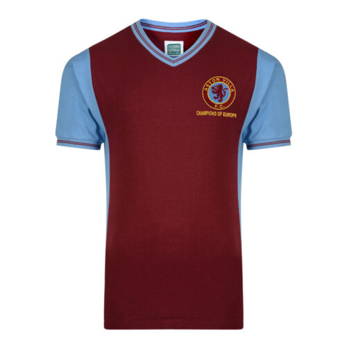 Aston Villa 1982-83 Retro Football Shirt