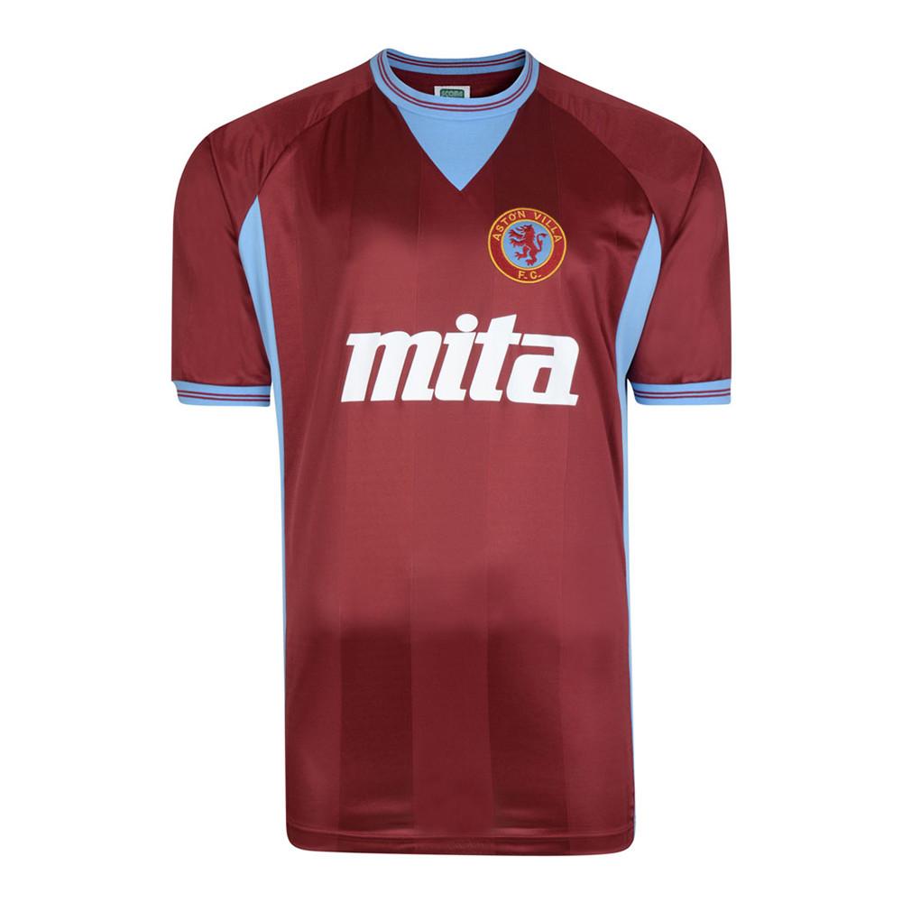 Aston Villa 1984-85 Maillot Rétro Foot