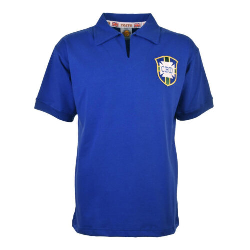Brazil 1958 Retro Football Shirt