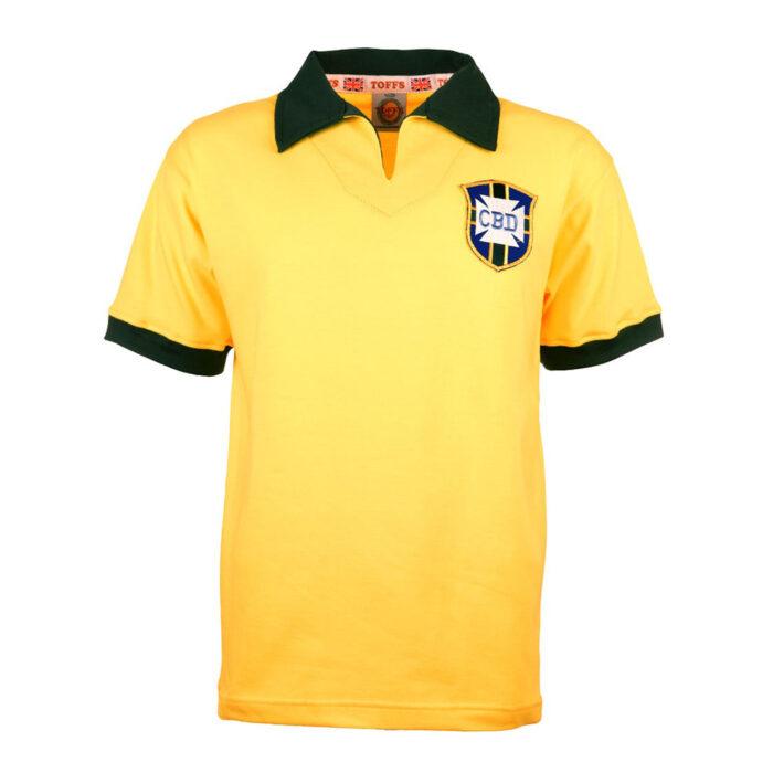 Brasile 1962 Maglia Storica Calcio
