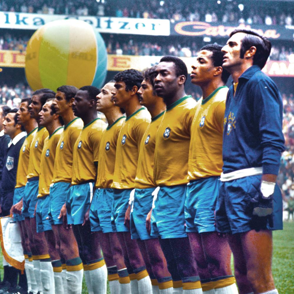 Brasile 1970 Maglia Storica Calcio