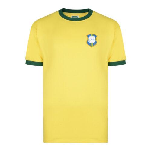 Brasil 1970 Camiseta Retro Fútbol