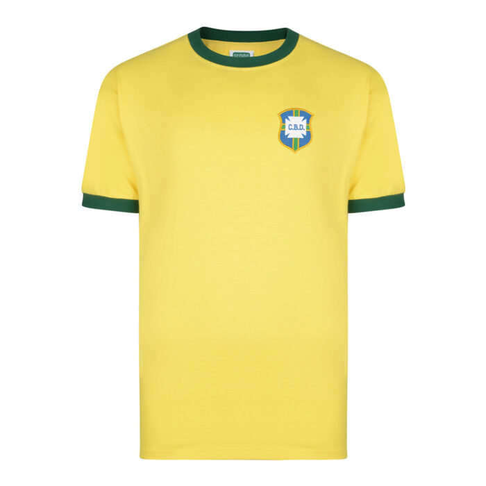 Brazil 1970 Retro Football Shirt