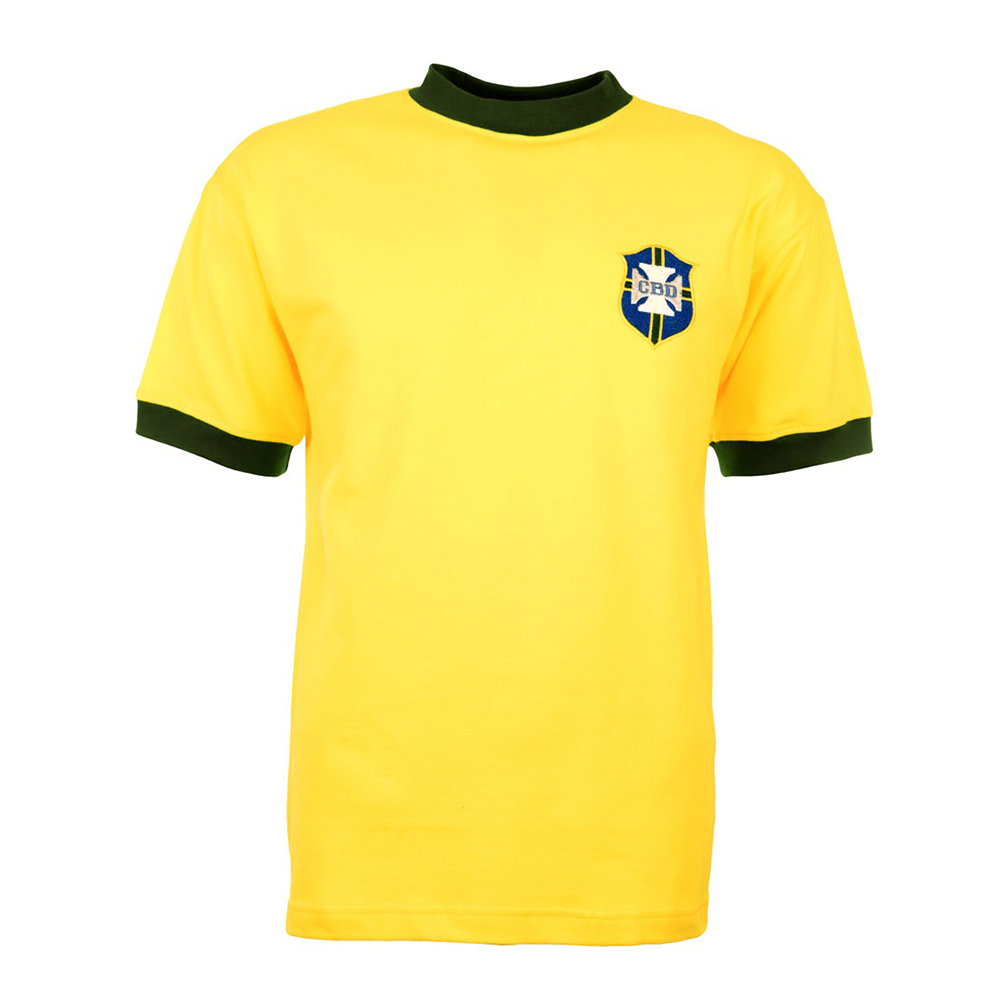 Brazil 1970 Retro Football Shirt