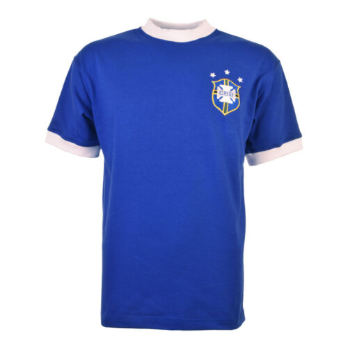 Brazil 1974 Retro Football Shirt
