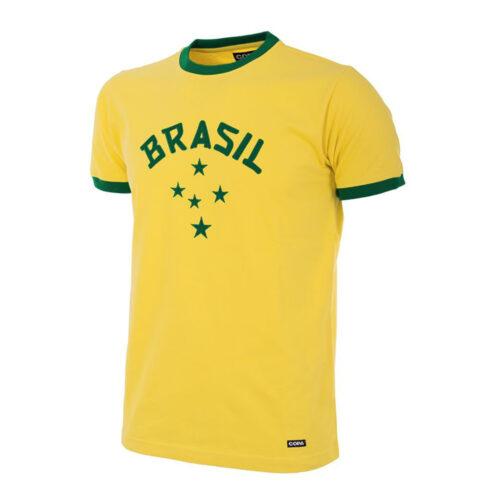 Brasil 1976 Camiseta Retro Fútbol