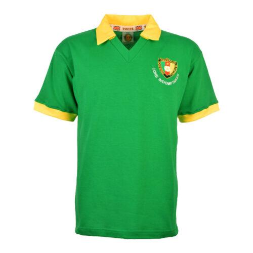 Camerún 1982 Camiseta Retro Fútbol