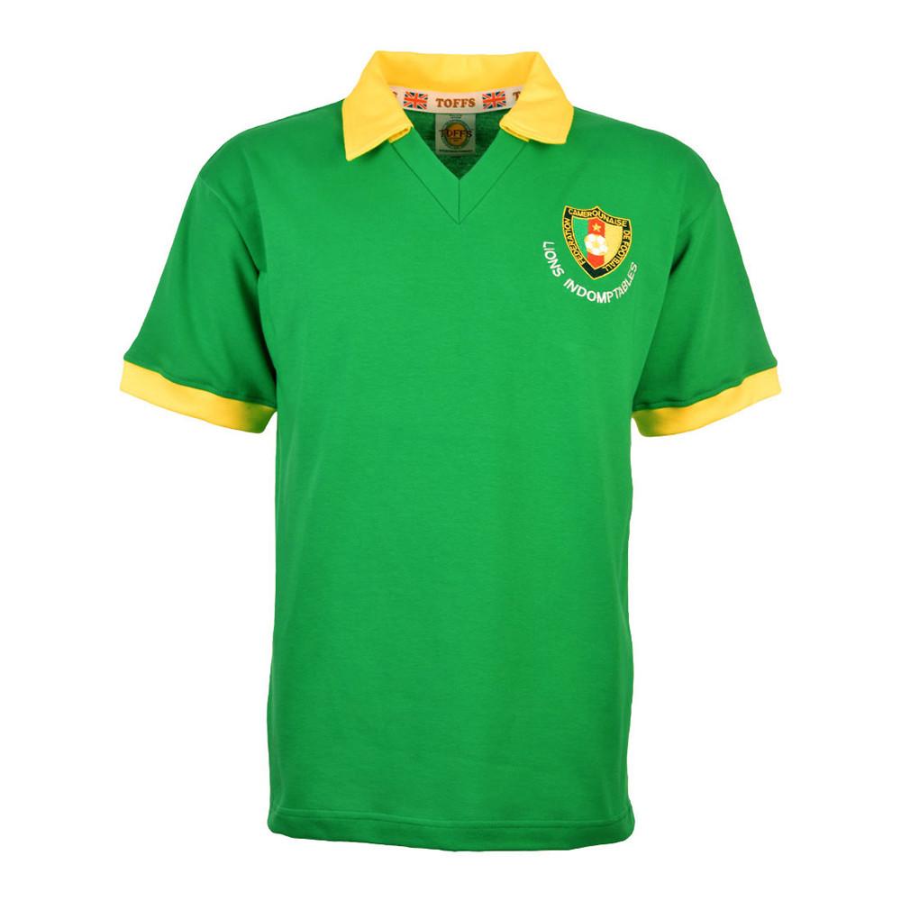 Cameroon 1982 Retro Football Shirt