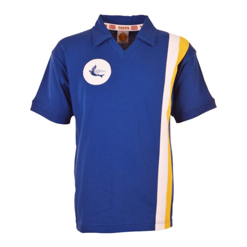 Cardiff City 1975-76 Retro Football Shirt