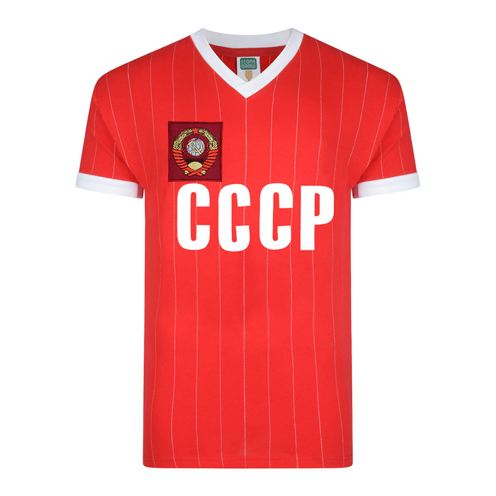 USSR 1984 Retro Football Shirt