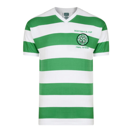 Celtic Glasgow 1979-80 Camiseta Retro Fútbol