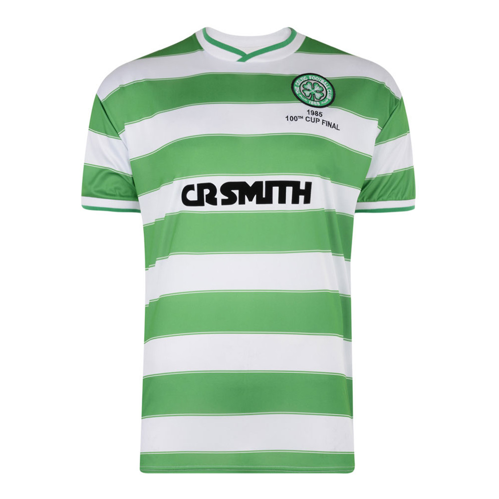 Celtic Glasgow 1984-85 Camiseta Retro Fútbol
