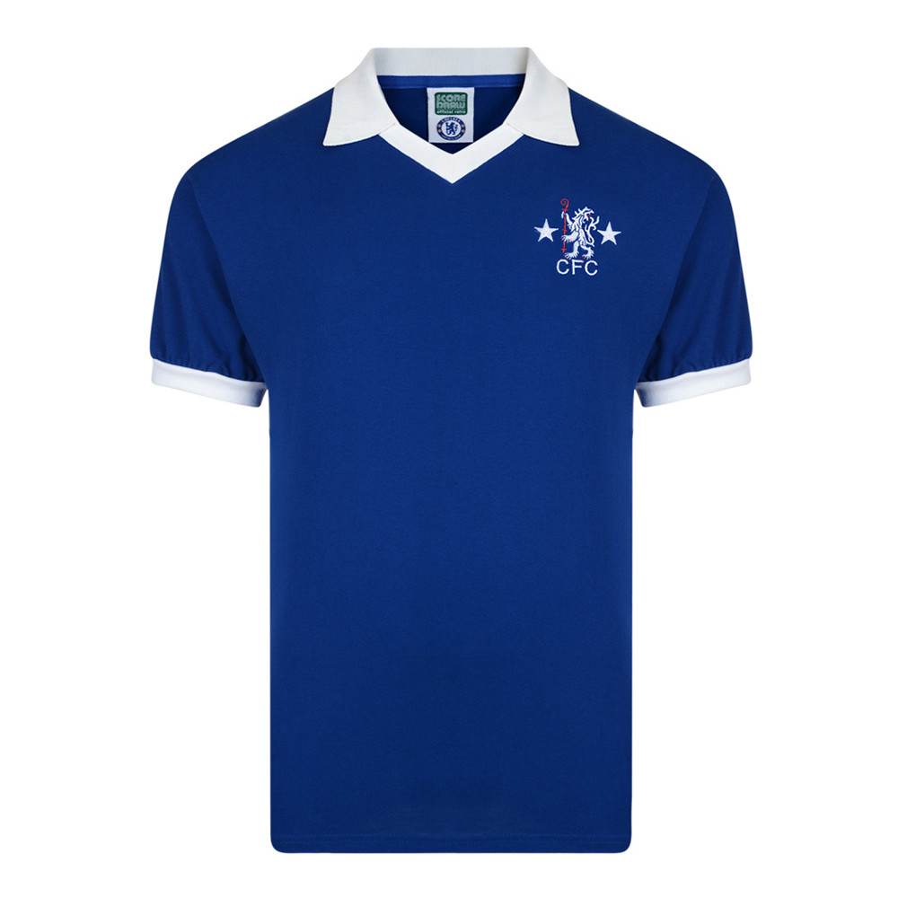 Chelsea 1977-78 Retro Football Shirt