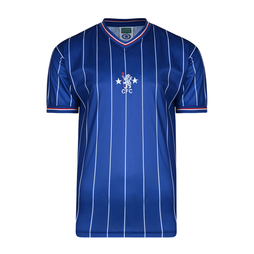 Chelsea 1981-82 Camiseta Retro Fútbol