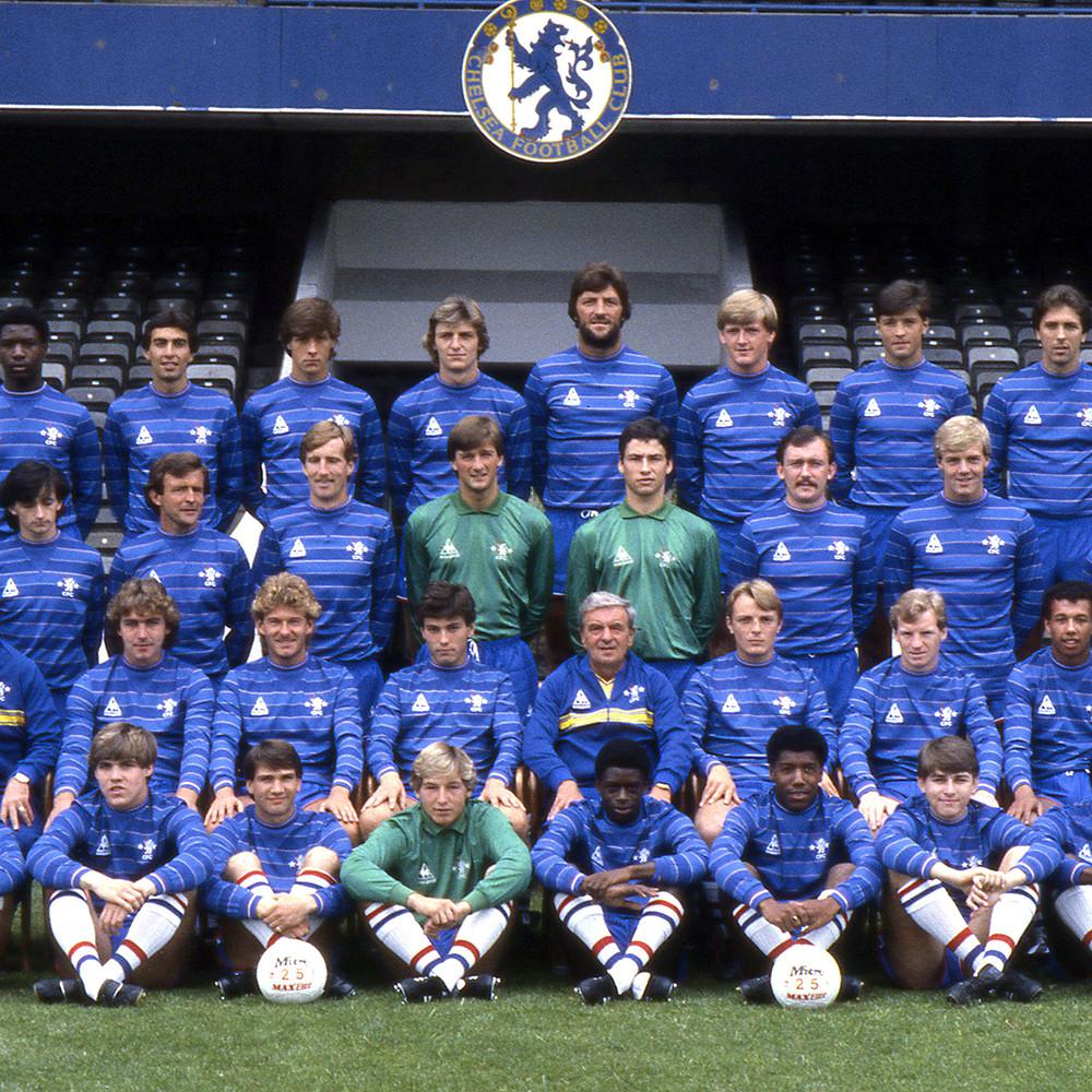 Chelsea 1983-84 Maglia Storica Calcio