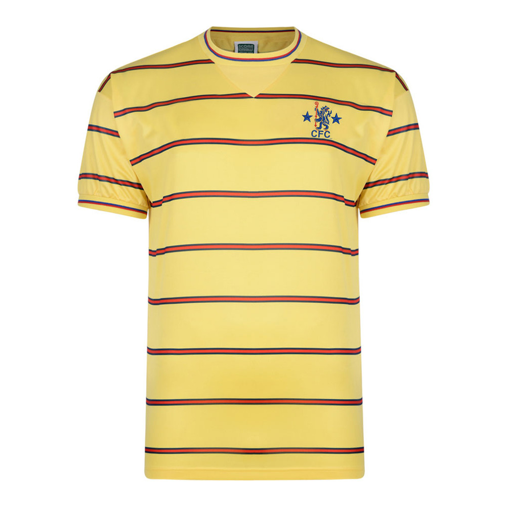 Image result for yellow chelsea shirt 84