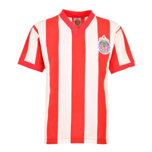 Chivas Guadalajara 1961-62 Camiseta Retro Fútbol