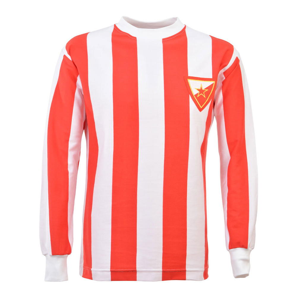 Red Star Belgrade 1978-79 Retro Football Shirt