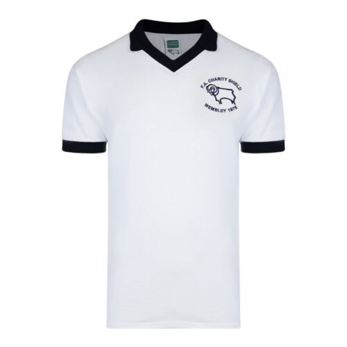 Derby County 1975-76 Maillot Rétro Foot