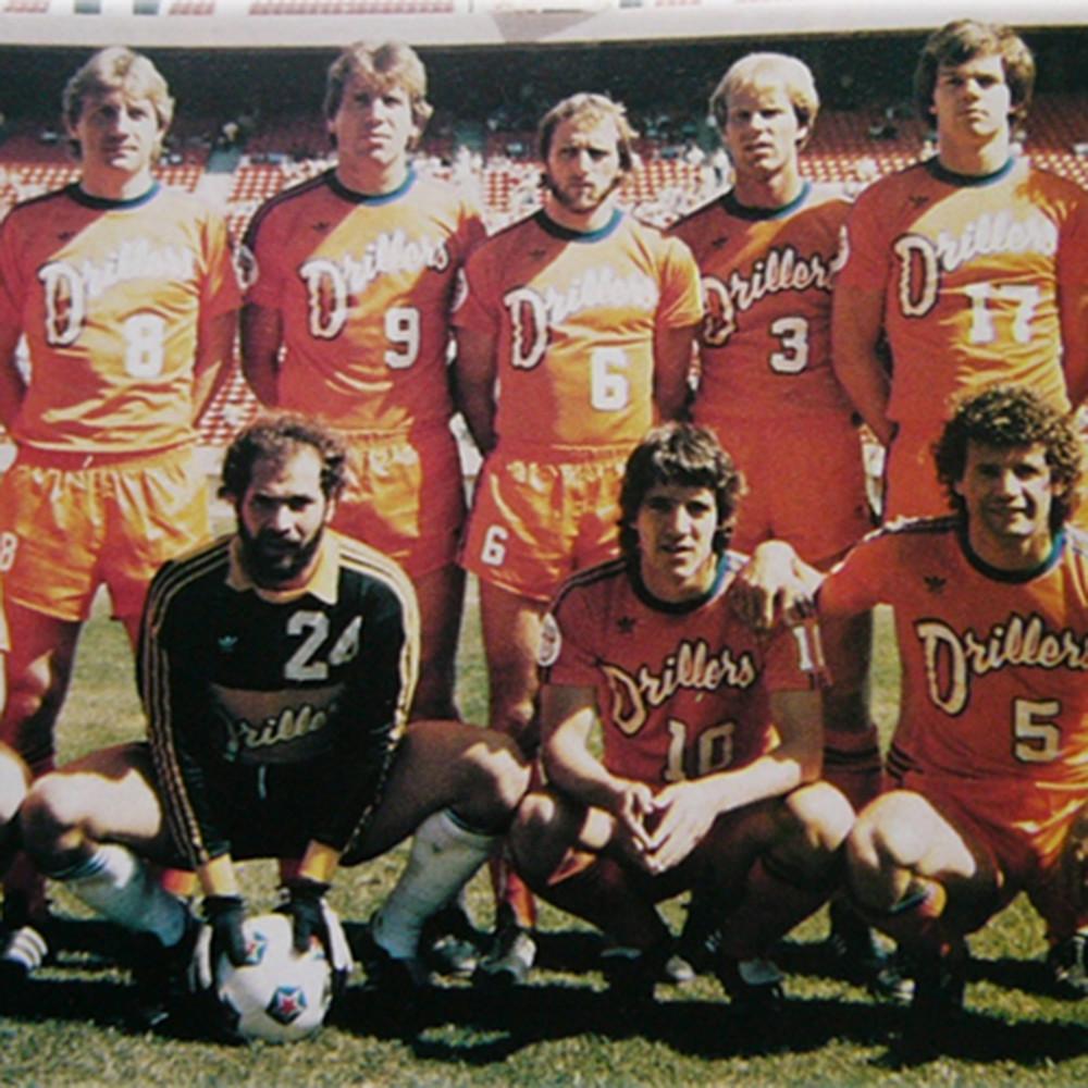 Edmonton Drillers 1980 Away Maglia Storica Calcio
